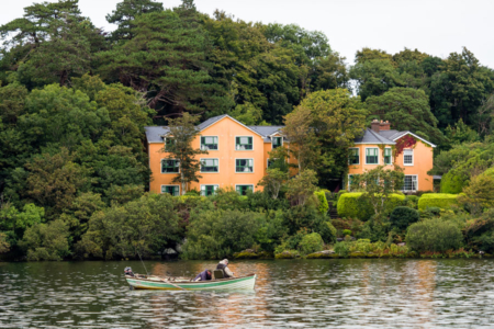Carrig Country House & Restaurant from the Lake