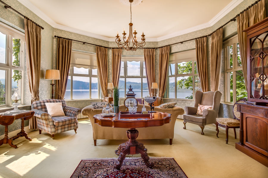 Presidential Suite Sitting Room