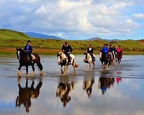 Burkes horseriding Glenbeigh