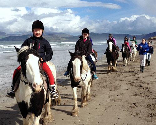 Burkes horseriding Kerry