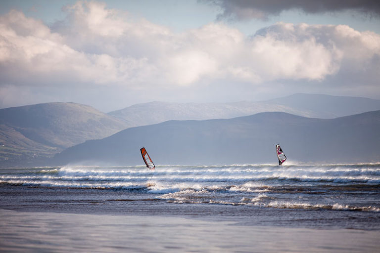 Windsurfing at Inch