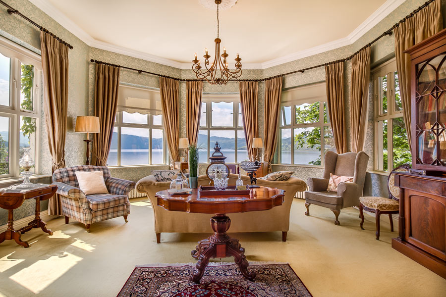 Carrig House Presidential Suite Sitting Room