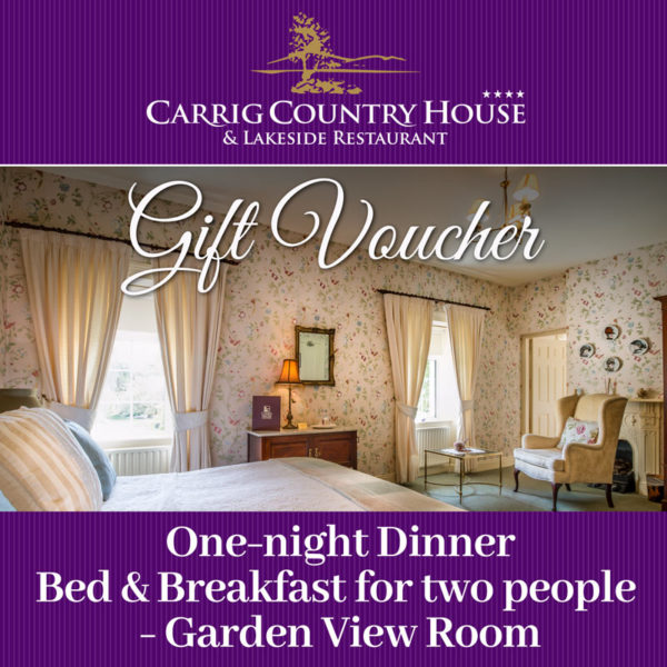 Carrig House Garden room gift voucher