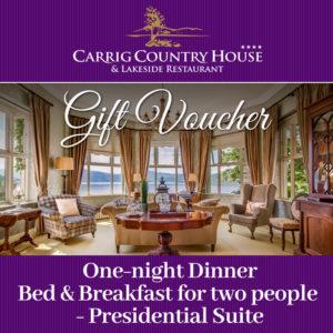 Presidential Suite Gift Voucher