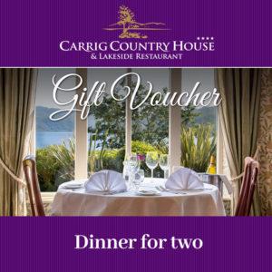 Dinner for Two Gift Voucher