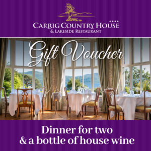 Dinner for Two with wine Gift Voucher